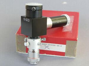 VIXEN GA-2 Beleuchtetes Nachführsystem 24.5mm OVP Guide Adapter 0.965'' Japan