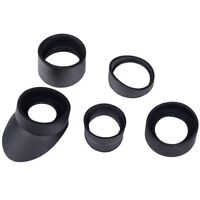 5 Sizes Binocular Rubber Eye Cup Eye Guard Eye Shield Microscope Telescope GL
