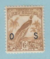NEW GUINEA O31 OFFICIAL MINT NEVER HINGED OG ** NO FAULTS EXTRA FINE !