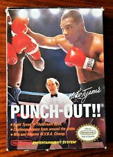 MIKE TYSON'S PUNCH-OUT!! (NES) EXTREMELY RARE STAR CODE VARIANT* COMPLETE IN BOX