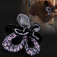 Crystal Hair Claw Alloy Grab Clip Clamp Women Hair Style Fashion Accessories