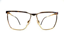 Safilo Elasta Square Real Vintage Cool Eyeglasses Occhiali NOS + Versace Case