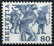Svizzera 1977-84 sg#946, 80c REGIONALE FOLK Custom definitivo Gomma integra, non linguellato #d45611