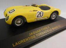 Coche de carreras de Le Mans de automodelismo y aeromodelismo de hierro fundido escala 1:43
