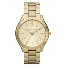 Relojes de pulsera Michael Kors Runway oro de acero inoxidable