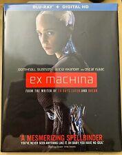 Ex Machine Blu-ray With Slipcover