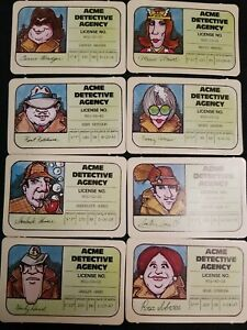 1979 Stop Thief Replacement Part License Electronic Cops and Robbers Board Game