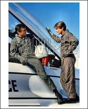 AIRWOLF 8X10 Photo 09 JAN-MICHAEL VINCENT & GEORGE DZUNDZA