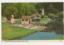 Childrens Playground, Skegness Model Village Postcard, B310