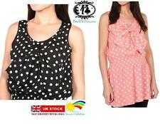 Short Sleeve Synthetic Casual Spotted Dresses for Women