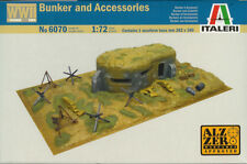 ITALERI 1/72 (20mm) SECONDA GUERRA MONDIALE Bunker e accessori