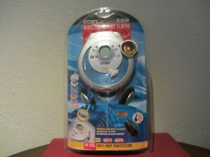 COBY Wireless Car CD Player 2006 CX-CD750 NEW in BOX Portable Headphones