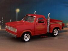 1978 78 DODGE LIL' RED EXPRESS PICKUP TRUCK  COLLECTIBLE MODEL -1/64 DIORAMA