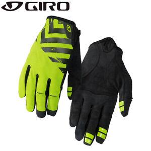 Giro DND MTB Trail Gloves - Lime Green / Black