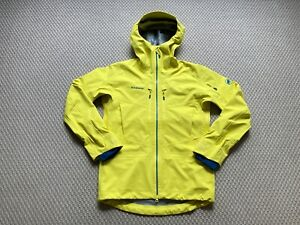 Mammut Haldigrat HS Shell Jacket Yellow M / Medium RRP £390