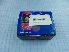 ORIGINALE Nokia 2220 Slide HOT PINK! NUOVO & OVP! inutilizzato! senza SIM-lock! RARE!