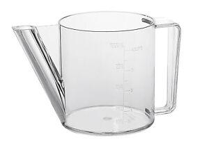 Westmark Fett-Trennkanne bis 1 Liter 4 Tassen Fetttrenner Fettkanne Abscheider