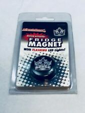 Los Angeles LA Kings NHL Hockey Motion Activated LED Refrigerator Magnet 2ea.NEW