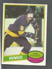 1980-81 O-Pee-Chee OPC Hockey Rob Palmer #104 Los Angeles Kings NM/MT