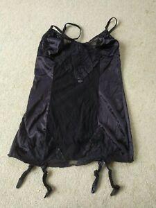 Anais Black corselette XXXL