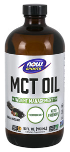 NOW SPORTS MCT Oil 100% Pure (Weight Management) 473ml FREE SHIPPING