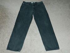 MENS LEVI LEVI'S 550 RELAXED FIT STRAIGHT LEG BLACK JEANS SZ: 36x32  NICE!!!