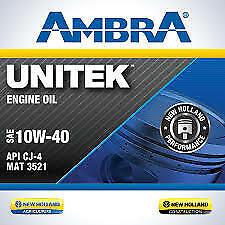 OLIO MOTORE AMBRA UNITEK 10w40 20LT PETRONAS SEMISINTETICO ACEA E7/E9