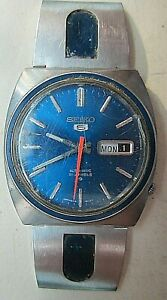 Vintage Seiko 6119-8490 Automatic from 1972. A challenge!