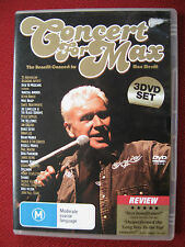 Concert For Max Merritt - 25 Australian Recording Artists, 3DVD Set Good as New!