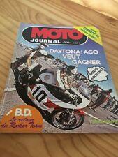 MOTO JOURNAL 1975 N° 209 Zundapp 125 GS , 400 cross Yamaha Suzuki poster Roberts