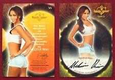 2013 Benchwarmer Thanksgiving 11-28-13 Melissa Riso Autograph Card # 36