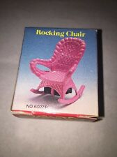 Die cast Rocking Chair Old Fashioned Metal Pencil Sharpener Made in Hong Kong