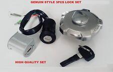 Honda Cg125 Japan/Brazil 3Pcs Lock Set Steering lock ignition switch Fuel cap