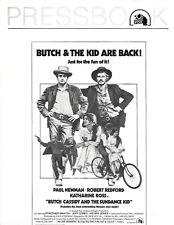 Butch Cassidy And The Sundance Kid Pressbook Robert Redford & Paul Newman