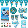 Octonauts Children Kids Theme Birthday Party Supply Tableware & Serveware Range