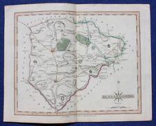 Original antique map RUTLAND, RUTLANDSHIRE, John Cary, 1809