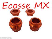 KTM SX125 SX150 SX250 2015-2016 APICO Avant/arrière Wheel Spacers ORANGE