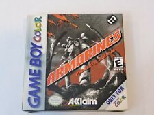 Armorines: Project S.W.A.R.M. Nintendo Game Boy Color CIB Complete in box Game