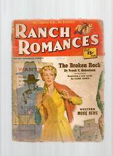 Ranch Romances Pulp Magazine Nov 2nd 1950 Fr/G