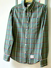 Superdry mens long sleeved Cotton Shirt size MEDIUM