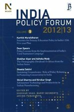 India Policy Forum 2012-13: Volume 9 by    Paperback Book   9788132113164   NEW