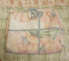ANAIS ANAIS CACHAREL PARFUMS CACHAREL PINK AND GREEN  FLORAL TRAVEL BAG