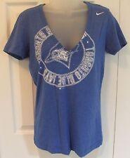 Nike Womens Toronto Blue Jays TShirt Slim Fit Size Medium Distressed Logo