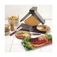 Appareil à raclette brézière Montagnarde 1/4 meule 900 W - inox BRON COUCKE