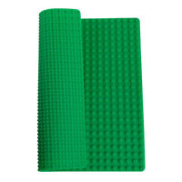 "15"" BRICK BUILDING 2-SIDED SILICONE PLAY MAT - COMPATIBLE WITH BUILDING BLOCKS"