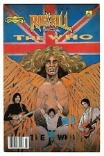 """Rock N'  Roll Comics #7 (1990) FN/VF 1st Printing  """"The Who""""  """"NEWSSTAND"""""""