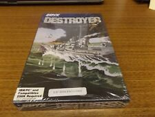 Destroyer (Epyx, 1987, IBM PC) - new in factory shrink wrap