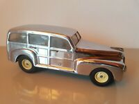 Tin Toy 1940/50's Marchesini-Bologna mechanical wind-up 1947 FORD ESTATE incom..