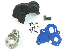 NEW HEAT SINK DUAL ENGINE MOTOR MOUNT PLATE E-REVO 5660 5690 SPUR GEAR COVER