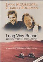 Long Way Redondo la Completa Serie de TV Edición Especial 3 Disco DVD Mcgregor L